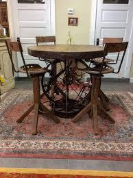 western metal pub table and stools furniture4u