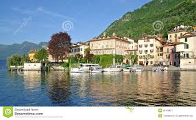 Lake Como Italy Map Lenno Lake Como Comer See Italy Royalty Free Stock Photography