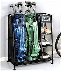 Garage Golf Bag Organizer - monkey bar storage 6 golf bag rack these highly efficient and