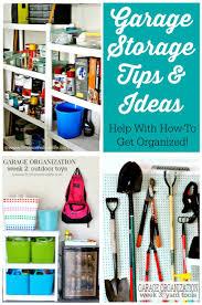 garage storage organization ideas fox hollow cottage