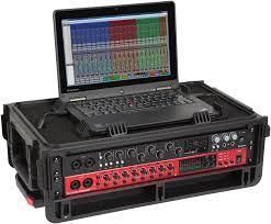 Audio Rack Case Skb Studio Flyer Waterproof Carry On Rack Case 2u Sweetwater