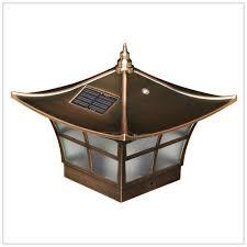 4x4 post cap lights solar deck post cap lights 4x4 copper ambience wood vinyl posts
