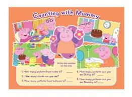 peppa pig counting mummy child