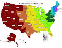 Zone Map Postal Zones Map Beethoven U0027s 7th Symphony