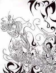 trippy flowers coloring pages batch coloring
