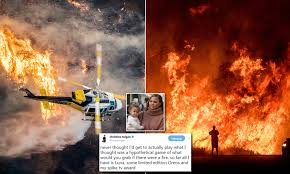 Where Do Celebrities Live In California - paris hilton and chelsea handler flee california wildfire daily