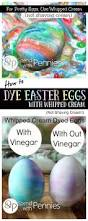 dye eggs with whipped cream instead of shaving cream