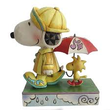 jim shore platinum rainy day snoopy giftcollector