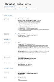 system analyst resume system analyst resume sles visualcv resume sles database