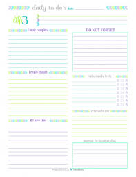 daily planner pdf free daily planner printables personal planner