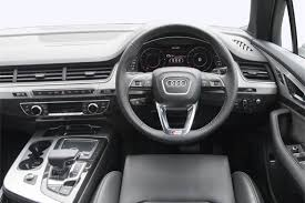 audi suv q7 interior new audi q7 diesel estate 3 0 tdi 218 ps quattro se 5 door tip