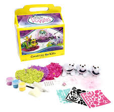 amazon com creativity for kids haute doggies craft kit u2013 makes 3