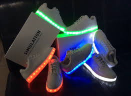 led light up shoes for adults simulation led light up sneaker shoes men women unisex lovers hip