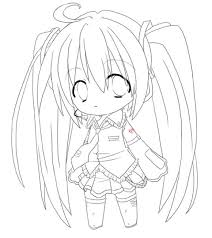 cute manga coloring pages chibi anime girl coloring pages to print coloring sheets