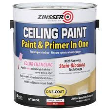 Washable Ceiling Paint by Zinsser 1 Gal Ceiling Paint And Primer In One Case Of 2 260967