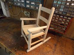 Unfinished Child S Rocking Chair Creating A Vintage Rocking Chair Perfect For Any Kid U0027s Room