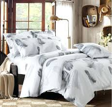 Black And White Twin Duvet Cover Cotton Duvet Covers Queen Black And White Bedding Set Feather
