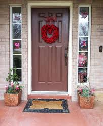 red front door decorations enticing classic house with red front door with