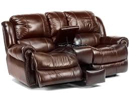 brown leather double recliner loveseat house decorations and