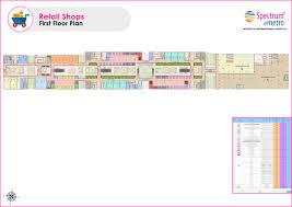 retail spaces floor plan spectrum metro