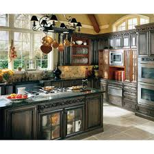 french country kitchen decorating with painted island country kitchen cabinets for beauty makeover french cottage