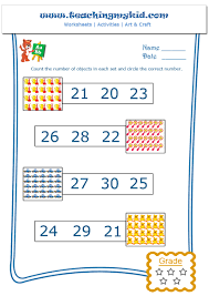 worksheet count the numbers wosenly free worksheet