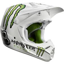 monster motocross helmets fox monster energy white helmet motocross gear