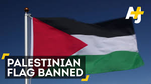 eurovision song contest bans palestinian flag youtube