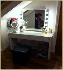 vanity table with lights and mirror house decorations