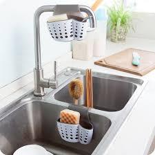 Kitchen Sink Holder by 2 Sided Kitchen Sink Sponge Holder Shopyplace