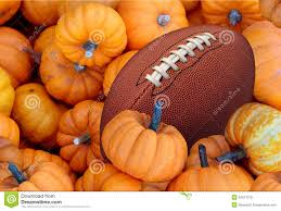thanksgiving football pigskin turkey dinner stock photo image