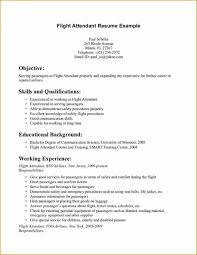 Resume Flight Attendant Best Ideas Of Sample Resume For Flight Attendant With No