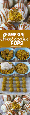 pumpkin cheesecake pops truffles recipe cheesecake pops