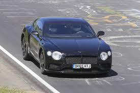 meet the 2019 continental gt spied next gen bentley continental gt takes to the track
