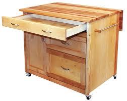 catskill craftsmen kitchen island with butcher block top u0026 reviews