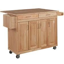 jcpenney kitchen furniture wood top drop leaf kitchen island