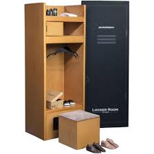 Locker Room Furniture Nba X Enterbay Locker Room 1 6 Scale Figure Brown