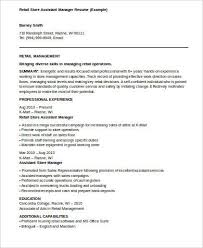 assistant bank manager resume sample assistant manager resume 8 examples in word pdf
