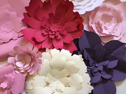 gorgeous large paper flowers these gorgeous paper flower blooms