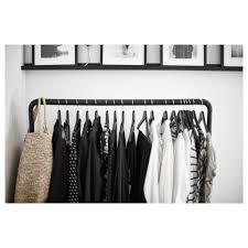 turbo clothes rack in outdoor black 117x59 cm ikea
