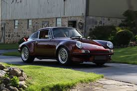 maroon porsche convalescence to confluence how one man u0027s porsche 912 got a new