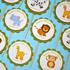 safari cake toppers baby animal cake toppers safari cupcake zoom farm peukle site