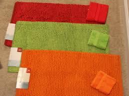 kitchen marvellous orange kitchen rugs orange kitchen rug sets