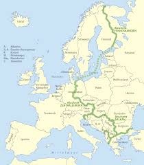 Map Of Europe Capitals by