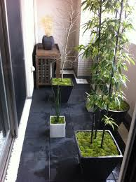 japanese spot garden in apartment balcony house ideas part 4