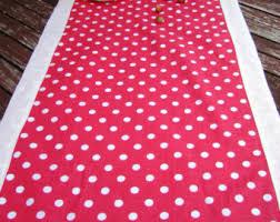 red white polka dot table covers polka dot table etsy