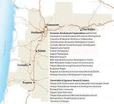 Portland Oregon County Map by Pacific Northwest Manufacturing Partnership