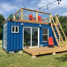Tiny Container Homes Rustic Retreat Tiny Shipping Container Home Dwell Boxes