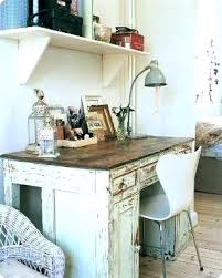 Chic Office Desk 8 Stylish And Cool Diy Shab Chic Desks Shelterness Throughout