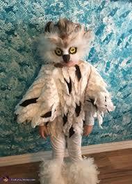 Girls Owl Halloween Costume Snow Owl Costume Owl Snow Costumes